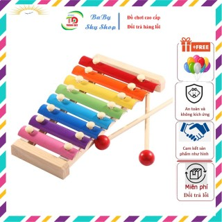 Đàn Gõ Xylophone 8 Thanh Cho Bé - Nhạc cụ Giúp Phát Triển Năng Khiếu Âm nhạc thumbnail