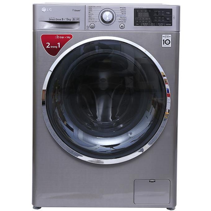 Máy Giặt Sấy Cửa Trước Inverter LG FC1409D4E (xám)