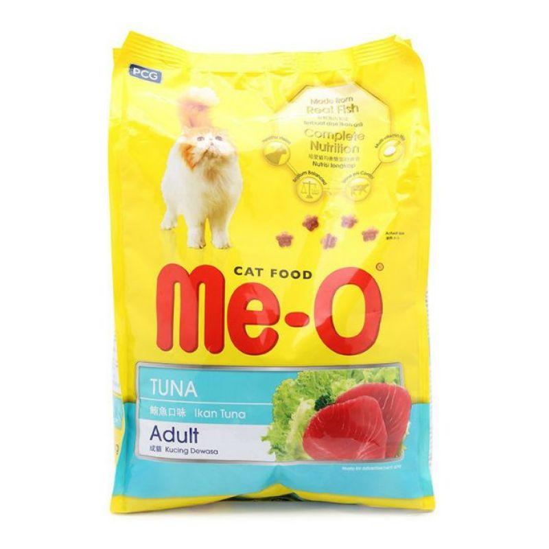 Thức Ăn Hạt Cho Mèo Me-O 350gr Hương vị Cá Ngừ