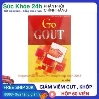 Viên GOUT thảo dược giảm acid uric giảm đau gút cấp và mãn tính thumbnail