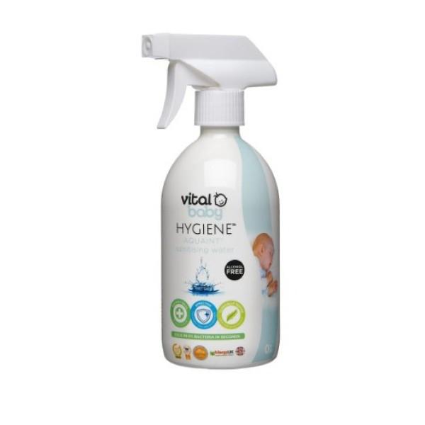 [Nhập ELMAR31 giảm 10% tối đa 200k đơn từ 99k]Xịt diệt khuẩn - rửa tay khô Vital Baby chuẩn auth xách tay từ Anh 500ml giá rẻ