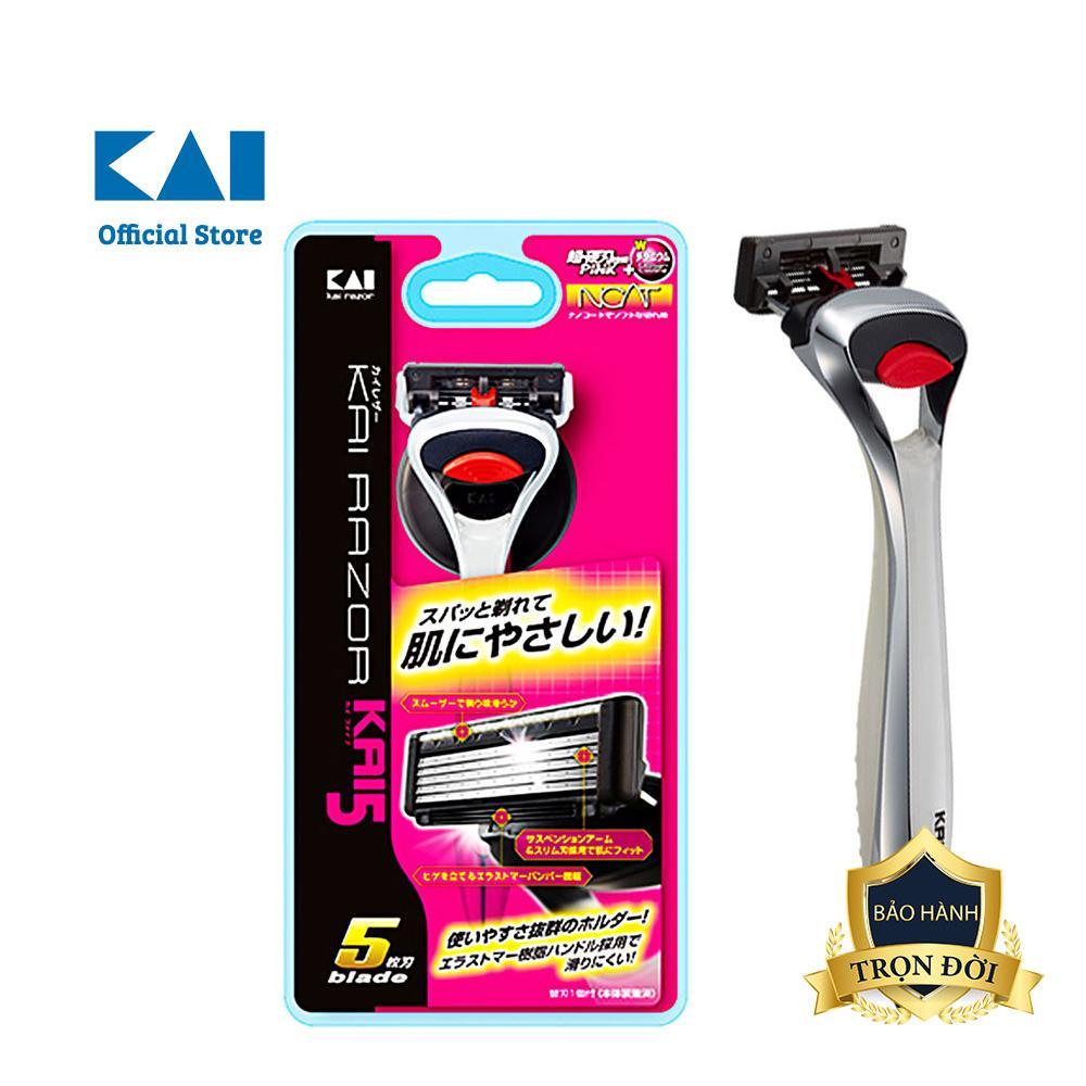 Dao cạo râu cao cấp Nhật Kai5 5 Blade tốt nhất