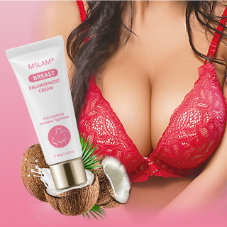 Kem Nở Ngực MSLAM BREAST ENLARGEMENT CREAM, Chăm Sóc Ngực Đàn Hồi Toàn Diện Hiệu Quả Nâng Ngực Kem Mát Xa Ngực, Kem Nâng Ngực Làm Săn Chắc Ngực Lớn 60G thumbnail