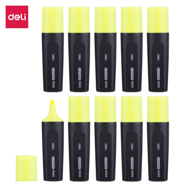 Mua DELI Bút nhớ dòng, bút dạ quang bút highlight làm nổi bật - Combo 2 chiếc- ES600