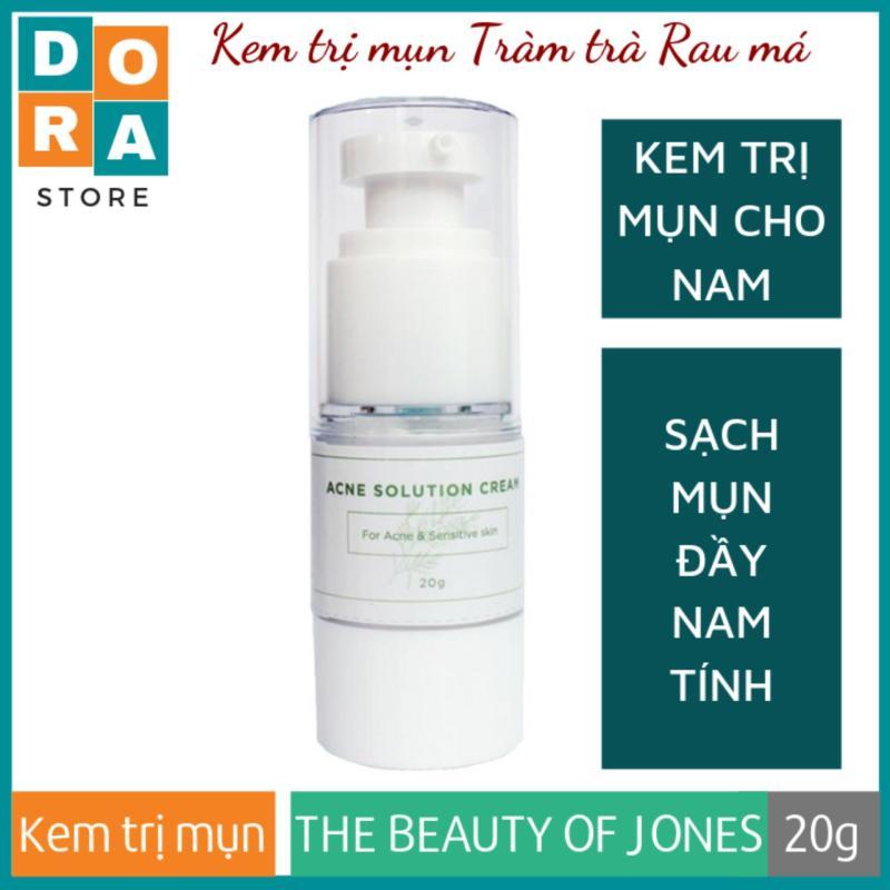 Kem trị mụn cho nam chiết xuất Tràm trà Rau má Acnes Solution Cream 20g