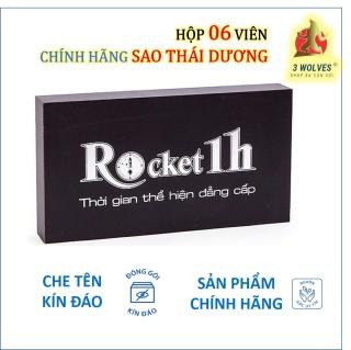 Rocket 1h tăng cường sinh lý nam chính hãng Sao Thái Dương - Hộp 06 viên thumbnail