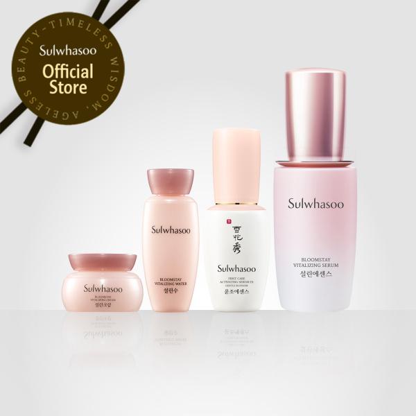[TRIAL SET] Bộ dưỡng da sáng hồng rạng rỡ Sulwhasoo Bloomstay Vitalizing Trial Kit 4 items