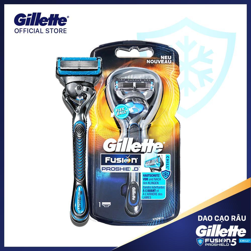 Dao cạo râu Gillette Fusion5 Proshield Chill cao cấp