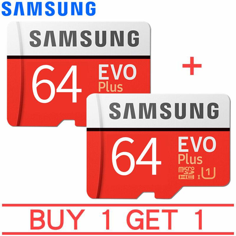 MUA 1 TẶNG 1 Thẻ nhớ MicroSDXC Samsung EVO Plus Adapter 64GB 100MB/s (New)