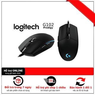 Chuột game Logitech G102 Prodigy RGB LED Có Dây Gen1 Gen2 - Hãng Phân Phối Chính Thức thumbnail
