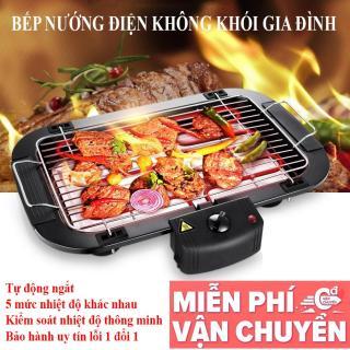 Mua Vỉ nướng, bếp nướng lẩu nướng, Bếp Nướng Điện Không Khói Hàn Quốc 2000W 2020 Tiết Kiệm Điện Năng - An Toàn Tuyệt Đối Bảo Hành 12 Tháng Toàn Quốc thumbnail