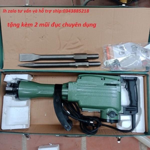 Máy đục bê tông Power AT9365 30mm tặng 2 mũi đục và chổi than
