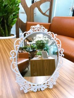 Gương trang điểm để bàn phong cách cổ điển thumbnail