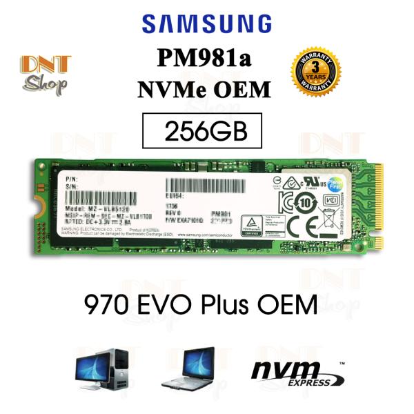 Bảng giá Ổ cứng SSD Samsung NVMe PM981a M.2 PCIe Gen3 x4 256GB/512GB/1TB - OEM 970 EVO Plus Phong Vũ