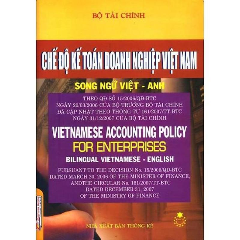 Mua Chế Độ Kế Toán Doanh Nghiệp Việt Nam (Song Ngữ Việt - Anh)