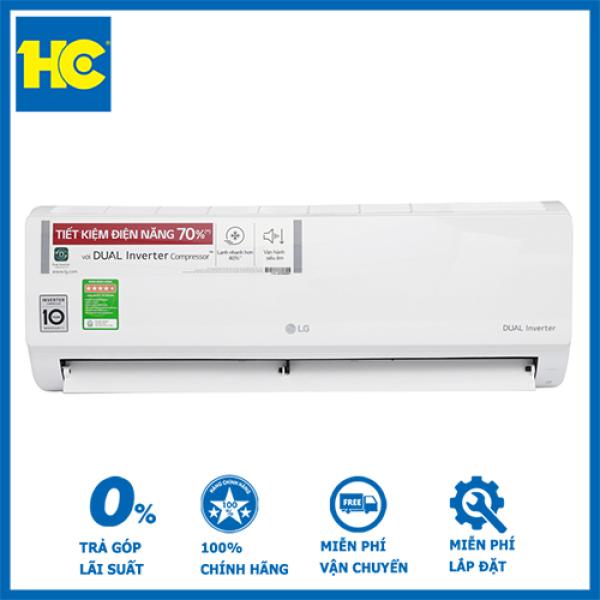 Điều hòa hòa LG 1 chiều Inverter  V10ENV/W - Miễn phí vận chuyển & lắp đặt - Bảo hành chính hãng