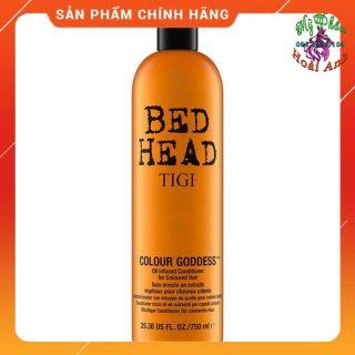 DẦU XẢ GIỮ MÀU TÓC NHUỘM TIGI BED HEAD COLOUR GODDESS 750ML thumbnail