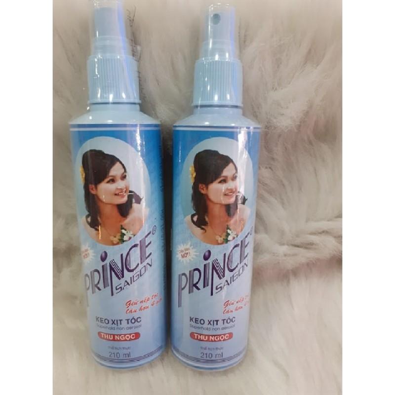 Keo xịt tóc PRINCE SAIGON 125ML giá rẻ