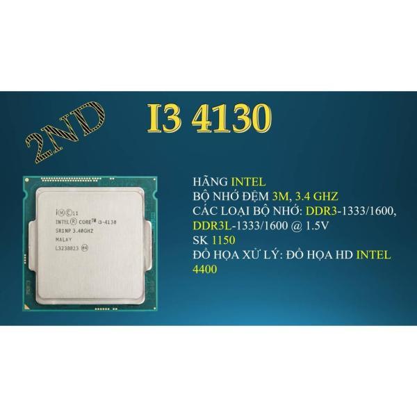 Bảng giá Bộ vi xử lý intel core i3 4130 3M bộ nhớ đệm, 3,40 GHz. Tặng Keo tản nhiệt. Phong Vũ