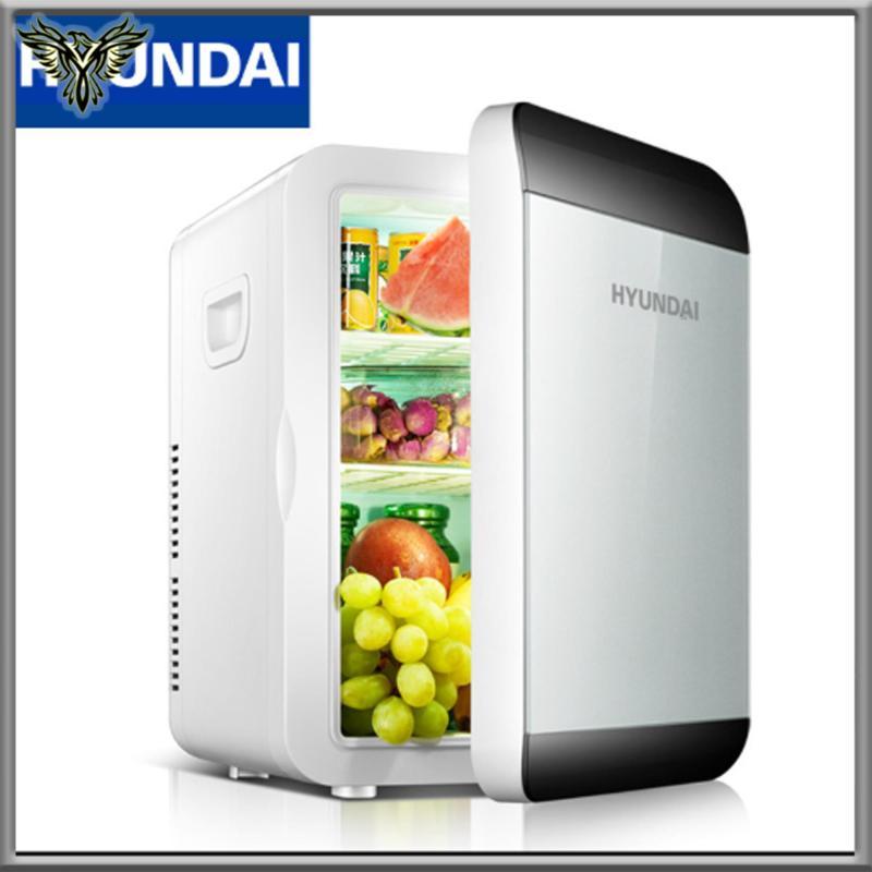 Tủ lạnh, tủ mát mini Hyundai dùng cả trong nhà, trên oto, xe hơi (13.5 Lít, hai chiều nóng lạnh)