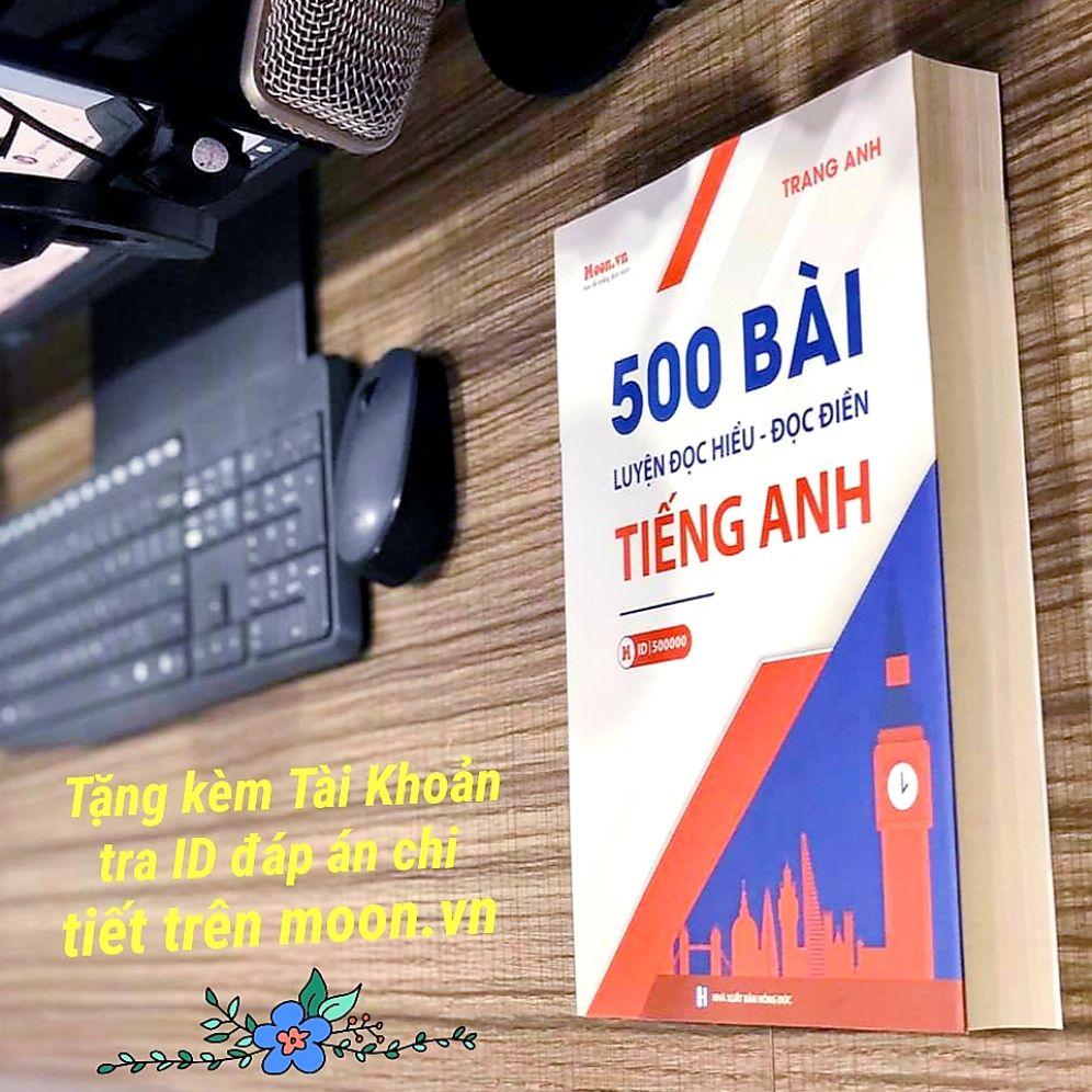 Voucher Ưu Đãi 500 Bài Đọc Hiểu Tiếng Anh - Cô Trang Anh