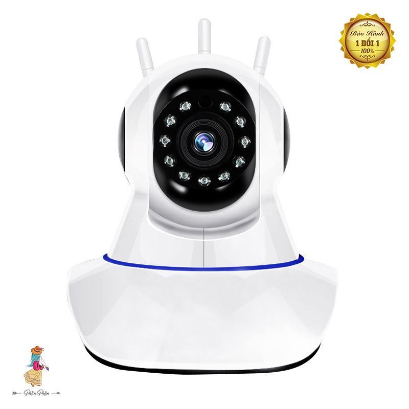 [Phặn Phặn] Wireless Camera Pascmio 3 Râu Phiên Bản Mới Wifi Camera Không Dây Di Động Chất Lượng HD Quan Sát Xoay 360 Độ