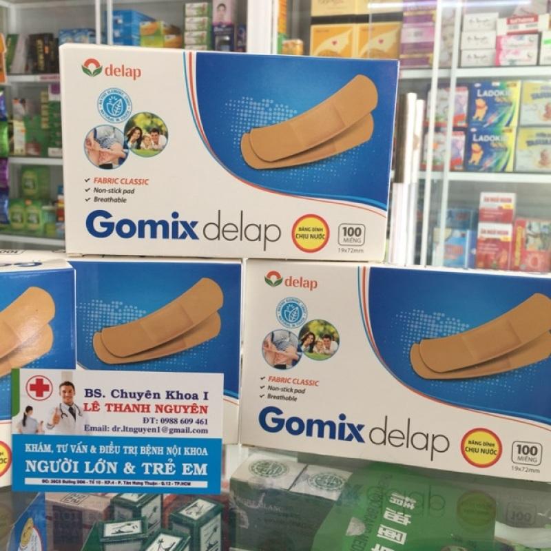 (không thấm nước) Băng cá nhân Gomix Delap-nguyên liệu châu Âu
