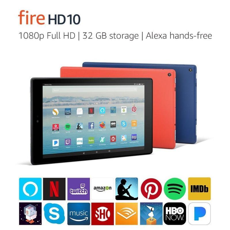   1 Đổi 1 Trong 3 Tháng   Máy Tính Bảng Kindle Fire HD10 - Thế hệ 7 mới nhất