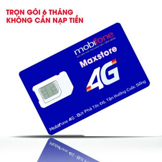 Sim 4G Mobifone 12C50N trọn gói 1 năm Tặng 30GB Tháng.Miễn phí cuộc gọi nội mạng + 50 phút gọi ngoại mạng Miễn phí 12 tháng không cần nạp tiền thumbnail