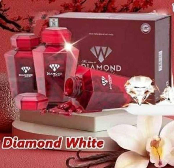 [Lấy mã giảm thêm 30%]Diamond White Viên uống trắng da Ngọc Trinh MUA 5 TẶNG 1 SỮA ONG CHÚA