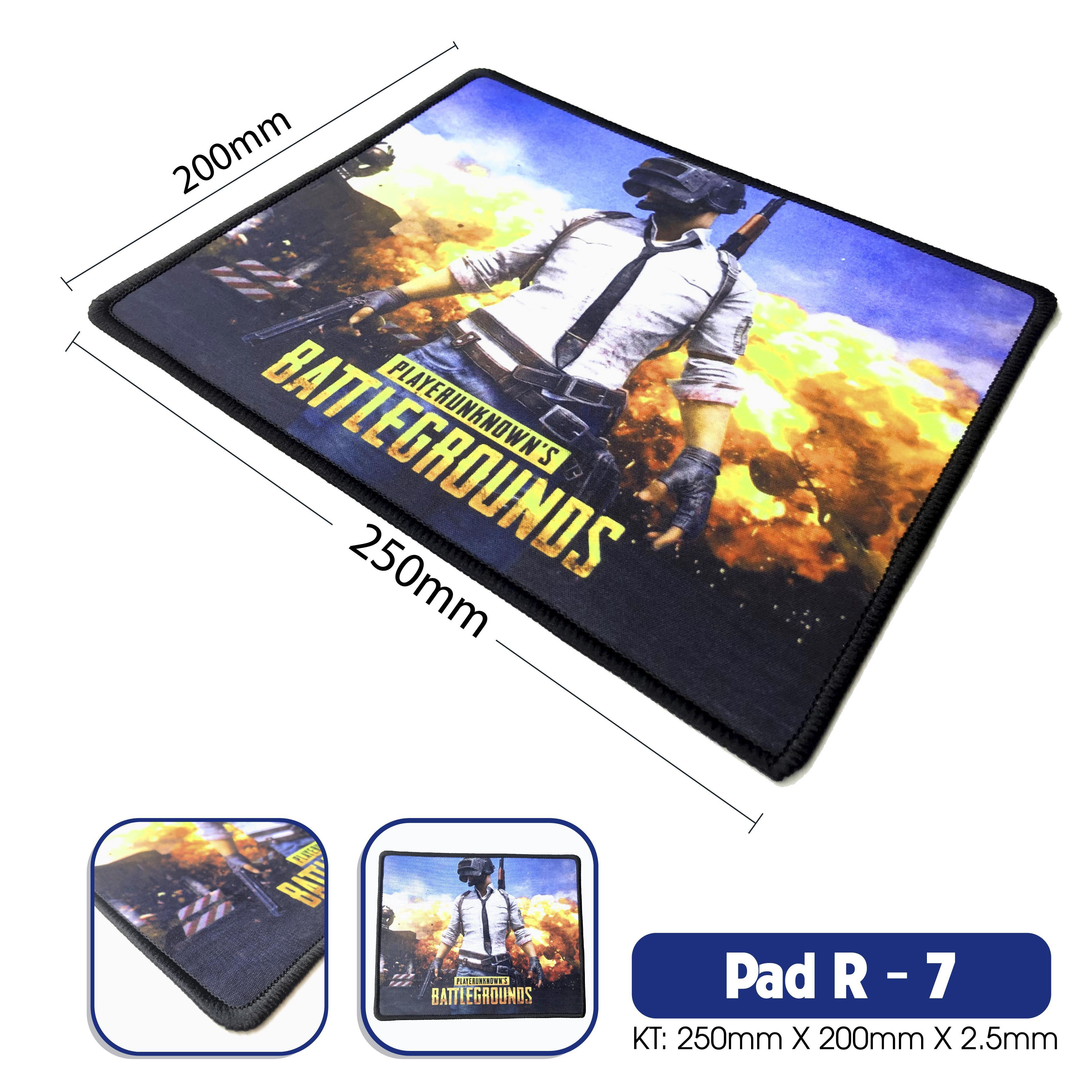 Giá Pad R7 (Nhiều Hình)- may viền : 200x250x2.5mm