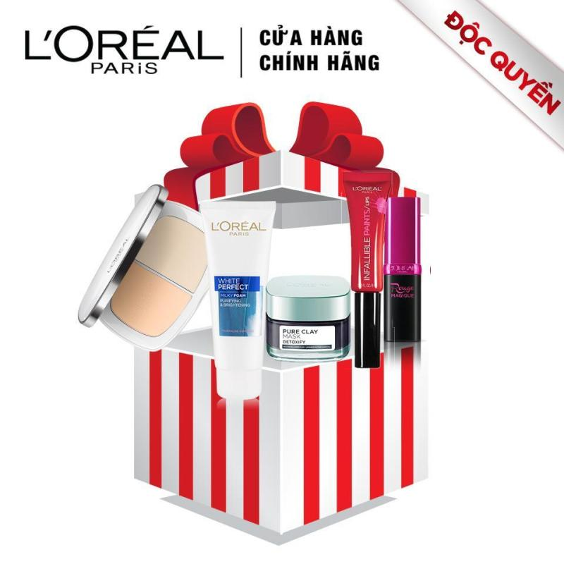 Bộ trang điểm và dưỡng da LOreal Paris Sparkling Beauty giá rẻ