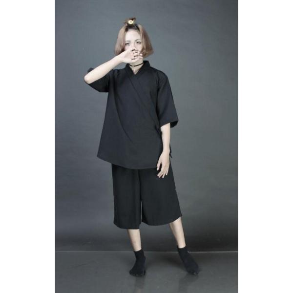 [GIÁ SỐC] SET Áo yukata + quần culottes