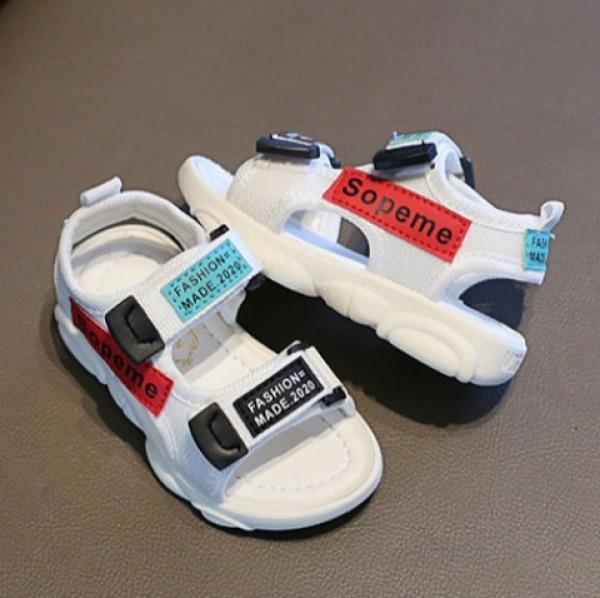 Giá bán Sandal bé gái và bé trai hàng cao cấp màu trắng siêu nhẹ dành cho bé 1-6 tuổi