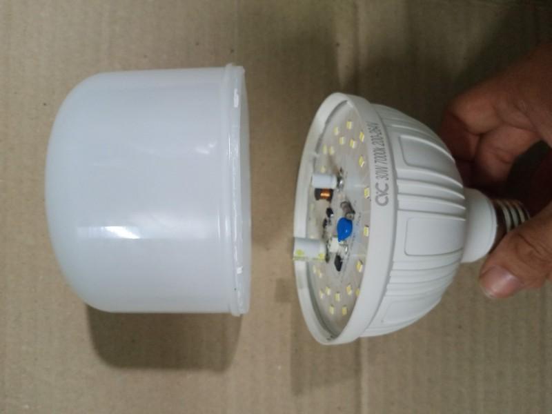 bóng đèn led 30w  hiệu CVC chính hãng bảo hành 2 năm
