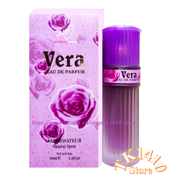 Nước hoa vera 40 ml ( Hoa hồng Tím - hương sâu lắng , sang trọng ) cao cấp