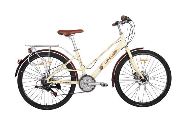 Phân phối Xe đạp nữ Low Carbon City 026 khung nhôm sơn tĩnh điện
