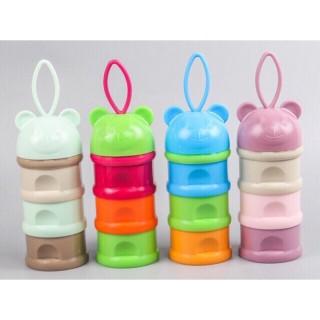 Hộp chia sữa 3 ngăn có quay cầm cho bé, sản phẩm đa dạng về mẫu mã, kích cỡ, chất lượng tốt, đảm bảo an toàn sức khỏe người dùng thumbnail