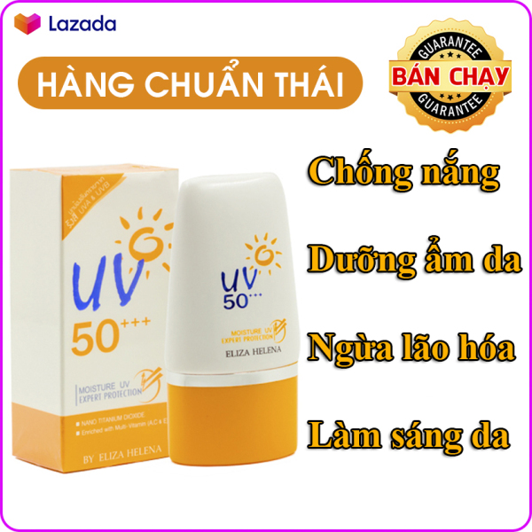 Kem chống nắng cho da mặt và body Eliza Helena UV50+++ Thái Lan 30g giúp chống nắng hiệu quả, bảo vệ da khỏi các tác nhân gây hại, dưỡng ẩm cho da và làm sáng da