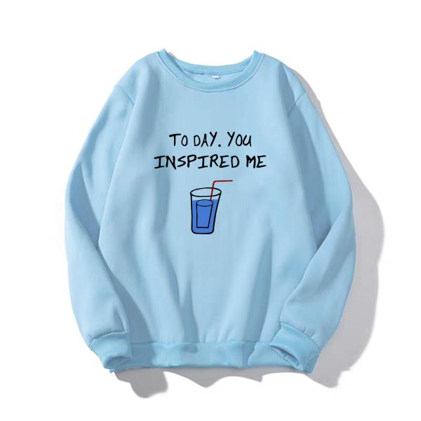 Áo Sweater Nỉ Cổ Chui UNISEX INSPIRED ME nam nữ đều mặc được CÓ NHIỀU MÀU LỰA CHỌN