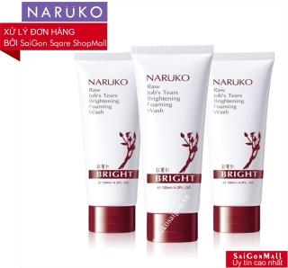[DA TỐI MÀU-SẠM ĐEN] Sữa rửa mặt Naruko ý dĩ nhân đỏ mới dùng trên các làn da tối màu, da sạm đen, da màu không đều Ý dĩ nhân đỏ sáng da mới 120GR Sữa rửa mặt Raw Job s Tears Brightening Foaming Wash 120GR thumbnail