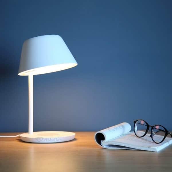 Đèn Để Bàn XIAOMI YEELIGHT LED YLCT02YL Chụp Đèn Có Thể Điều Chỉnh 30 Độ, Ánh Sáng  Đồng Đều
