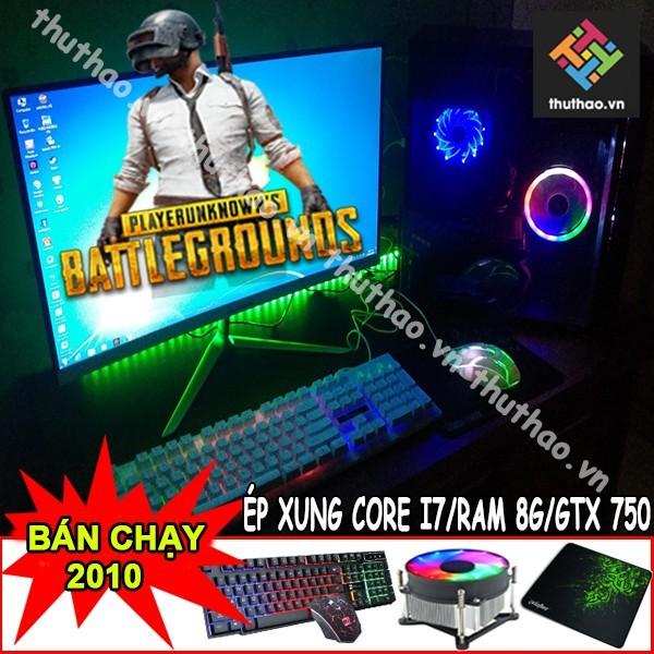 Bảng giá BỘ MÁY TÍNH BÀN CHƠI GAME RAM 8G PUBG, PUBG MOBI, FIFA 4 Phong Vũ