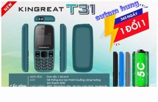 Điện thoại Kingreat T31 FM loa ngoài - 2 sim 2 sóng - Nhỏ gọn - Pin 5C - Mới 100% - Hàng chính hãng sth thumbnail
