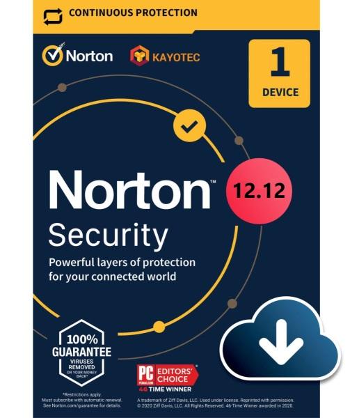 Bảng giá Phần mềm Norton Security 1 Device CTKM 12-12 Phong Vũ