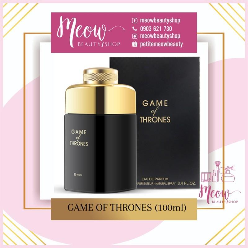 Nước Hoa Nội Địa Trung Jean Miss (100ml) Game of Thrones nhập khẩu