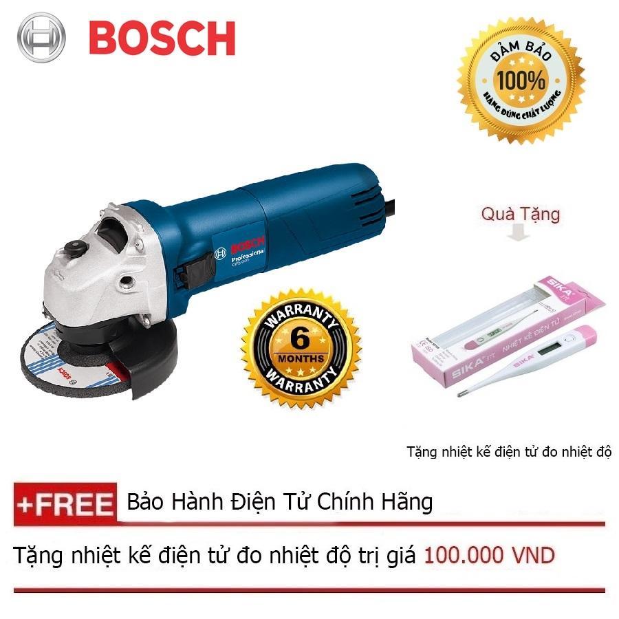 Máy mài góc Bosch GWS 060 Professional 670W  + Quà tặng nhiệt kế điện tử