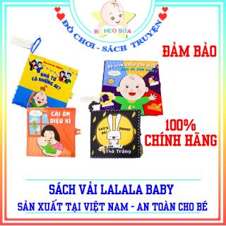 Sách vải cho bé - Sách vải tương tác - sách vải an toàn sản xuất tại Việt Nam thumbnail