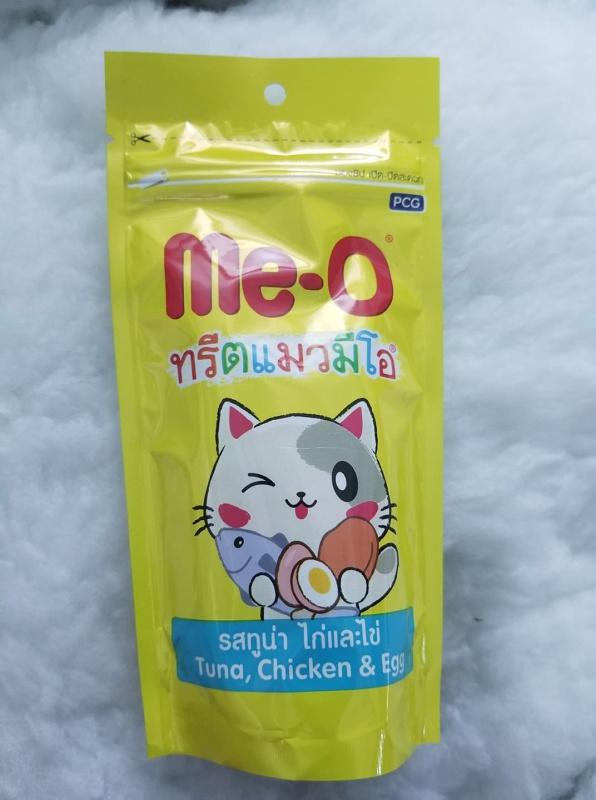 Snack bánh thưởng cho mèo vị cá ngừ MeO Tuna Thái Lan 50g