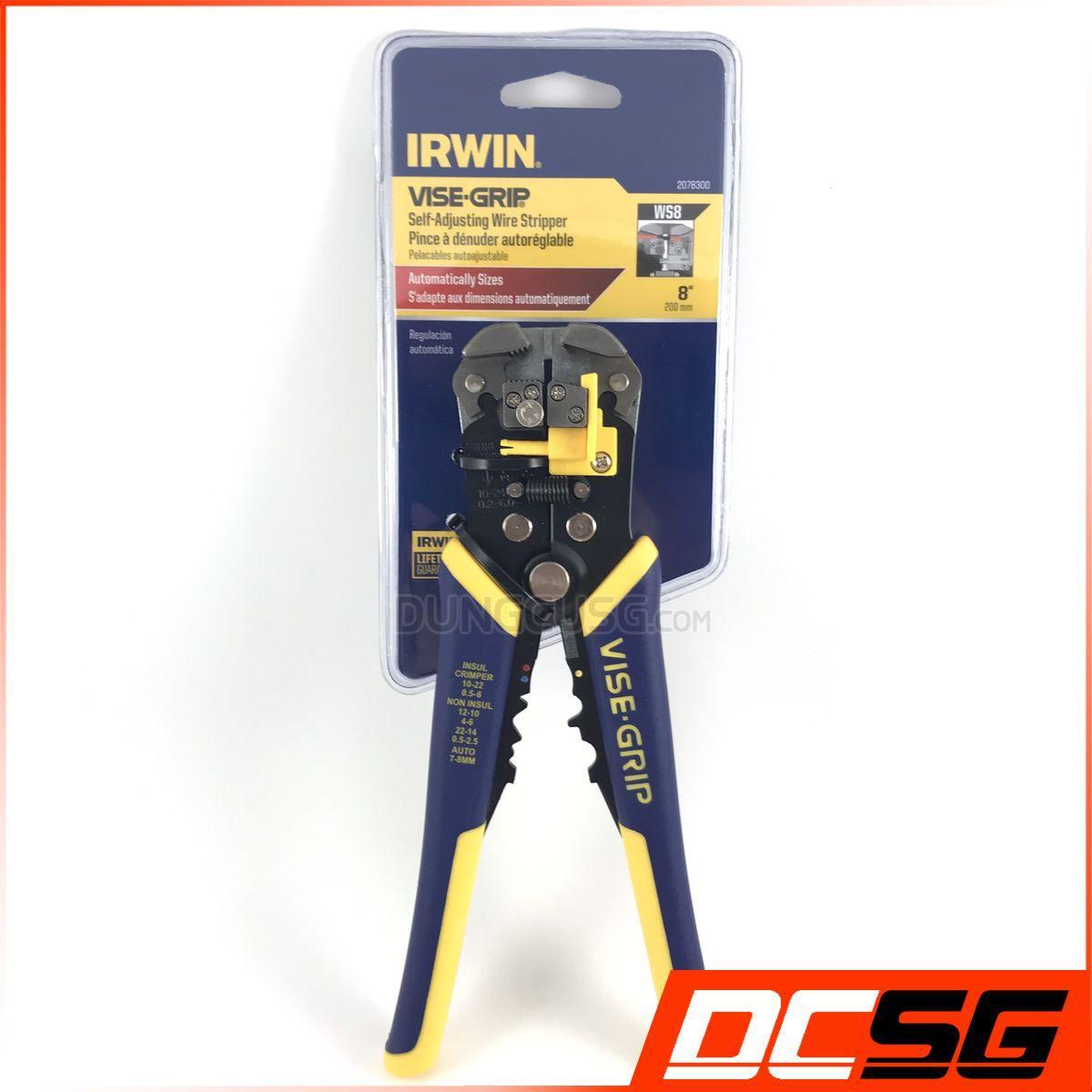 Kiềm tuốt dây điện đa năng IRWIN VISE GRIP 2078300 [DCSG]